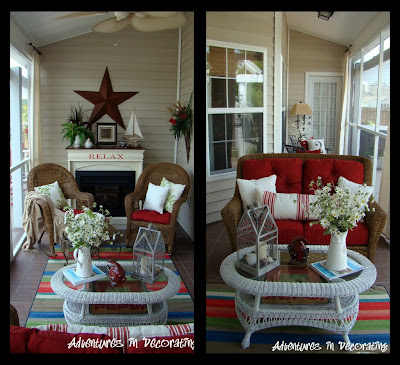 porchdeb Traditional ranch style home tour in Myrtle Beach, SC