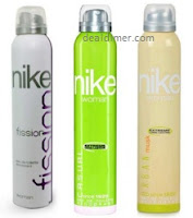 Nike Women Set of 3 Deodorants- each 200ml (MRP: Rs. 999) @ Rs. 518 - SnapDeal
