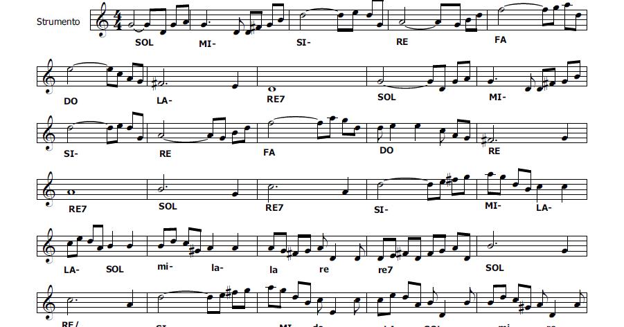 Musica e spartiti gratis per flauto dolce notte nel bosco favola per flauto dolce - Aggiungi un posto a tavola accordi ...