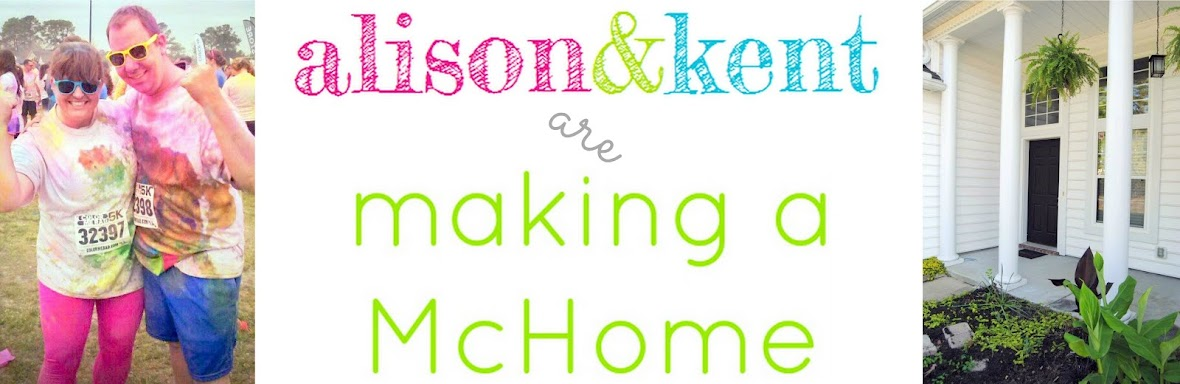 Alison and Kent: Making a McHome