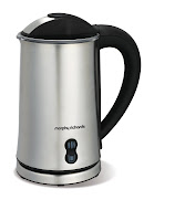 The Sleek Brushed Steel Morphy Richards Meno Milk Frother