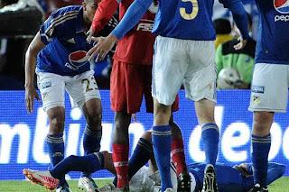 Jose Luis Tancredi sufrió fractura de tibia y peroné