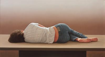 Mujer Durmiendo Cuadro Al Oleo