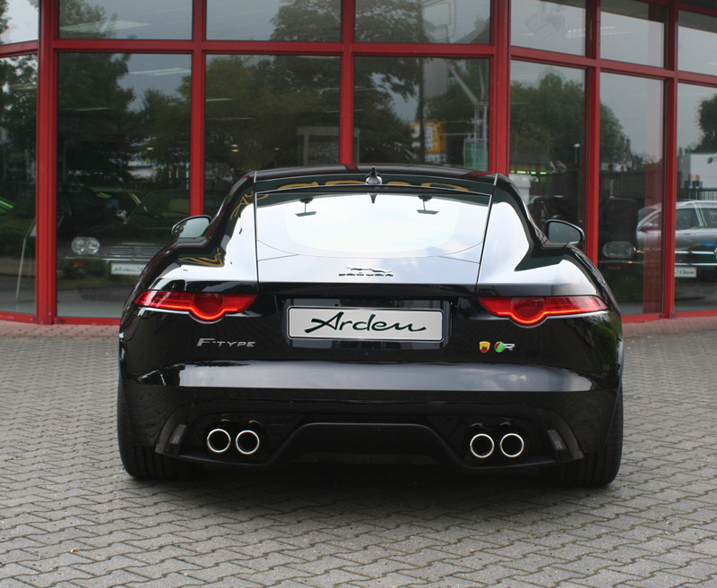 Arden Gives Jaguar F Type A Performance And Styling Tune