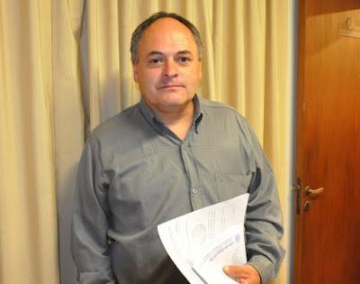 Entrevista con Raúl Mendoza, presidente de Liga Departamental de Fútbol de Punilla