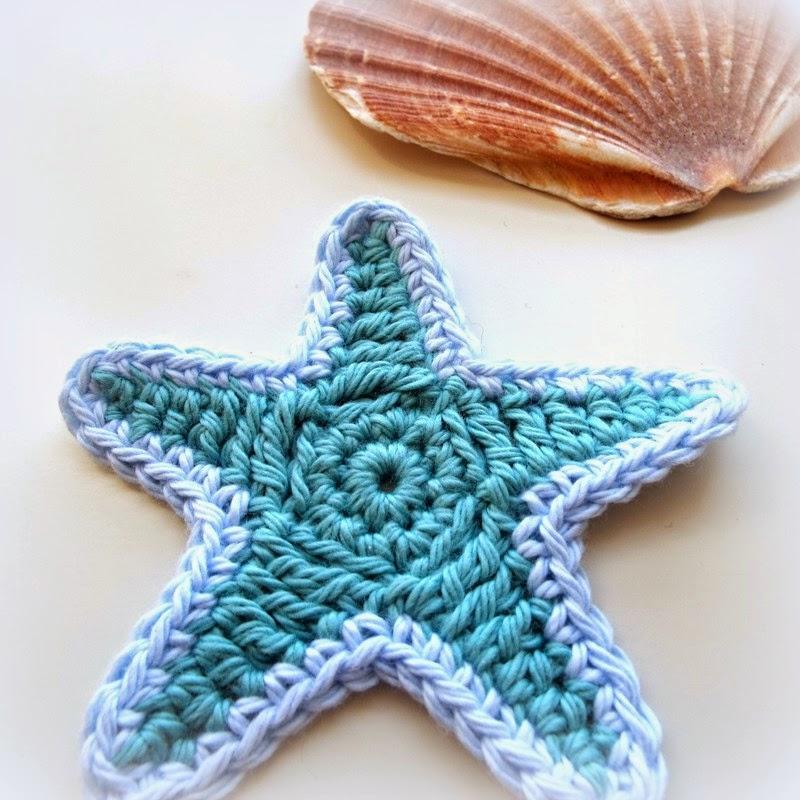 Free Crochet Pattern Starfish : MICROCKNIT CREATIONS: STARFISH Crochet FREE Pattern