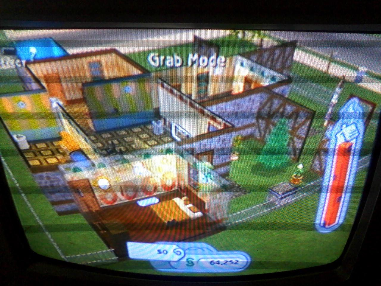 Ini Desain Rumah Yg Pertama Utk Yg Selanjutnya Ntr Akk Posting Lagi... Maaf Agak Jelek Trus Gambarnya Ada Garis-garisnya Aku Foto Pake Hp. & Desain Rumah Mewah The Sims 2 \u0026 The Big House [Lot 2]