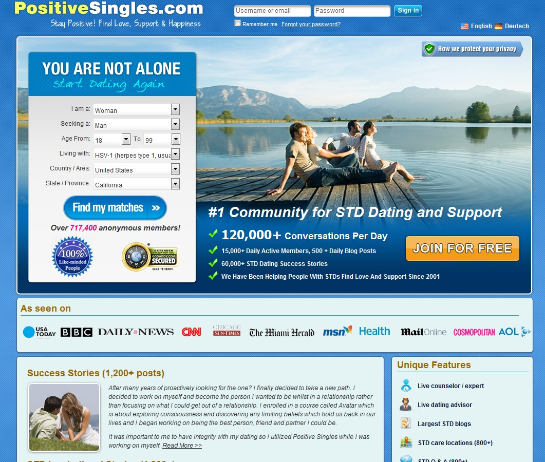 hiv negative dating site Positive singles speak out about living with hiv by richard cordova from thebody february 21, 2016 richard cordova i'm lucky enough to have the opportunity to work with a website called positivesinglescom, a dating and community website for people living with sexually transmitted infections (stis) it's fulfilling because i get to.