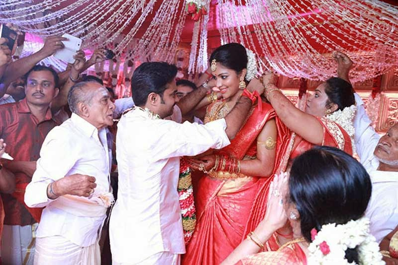 Actress Amala Paul Wedding Ceremony