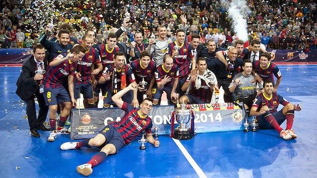 El Barça gana su cuarta copa del rey en cuatro ediciones