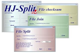 تحميل برنامج HjSplit 3 مجانا مع الشرح لتقسيم و تجميع الملفات
