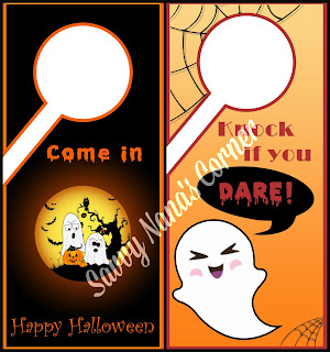 Halloween Door Signs