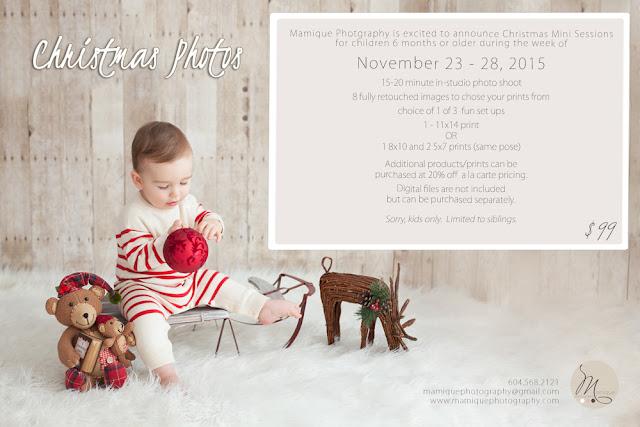 Christmas photos, baby, child