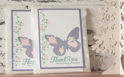 Floral Wings Thank You Cards Gift - get the details here