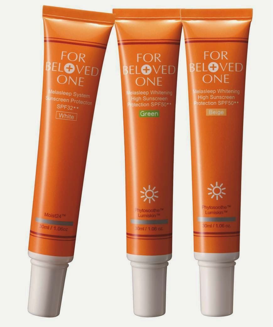 FOR BELOVED ONE Melasleep Whitening High Sunscreen Protection SPF50** Review, FOR BELOVED ONE, Beauty Review, Melasleep Whitening High Sunscreen Protection SPF50**, Sunblock Review, Whitening Sunblock