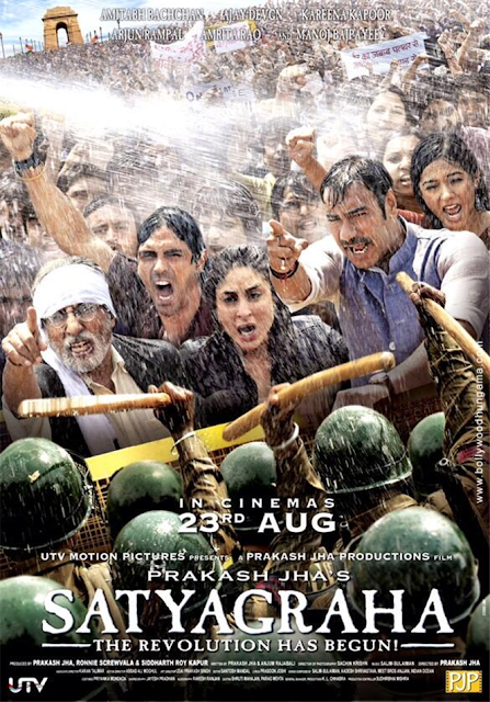 Satyagraha (2013) Hindi Movie 400MB BRRip 480P ESubs