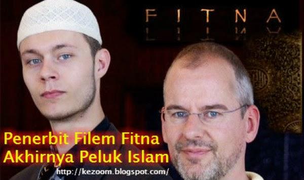 Penerbit Filem Fitna Akhirnya Peluk Islam