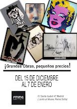 GRANDES OBRAS, PEQUEÑOS PRECIOS - SHOPPING DE NAVIDAD EN GALERÍA EMMA