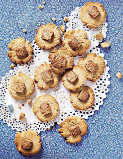 Caramel Toffee Biscuits