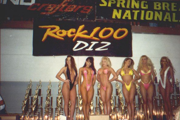 Circuit girl bikini contest