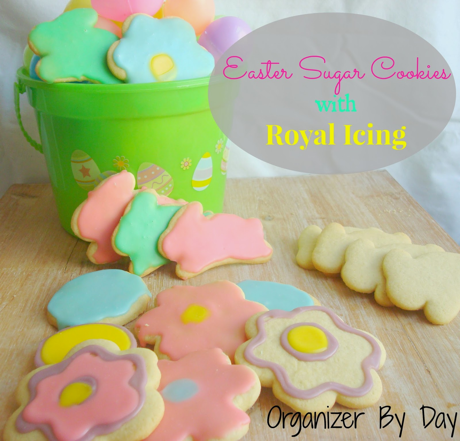 ... Crockpots! Come Check It Out!: Easter Sugar Cookies with Royal Icing