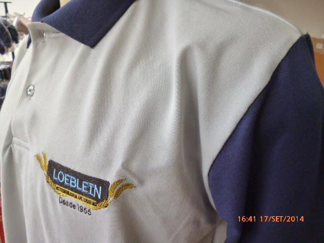 Camisa Polo pique duas cores