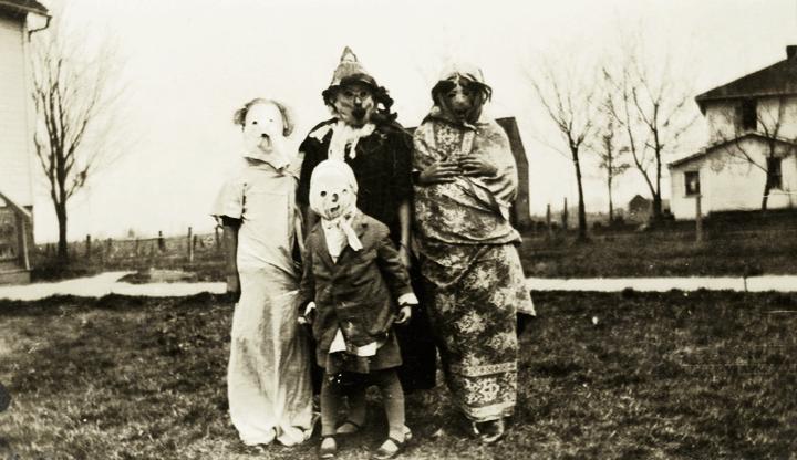 Halloween c. 1950's