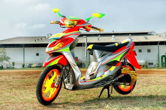 Foto Modifikasi Motor Yamaha Fino