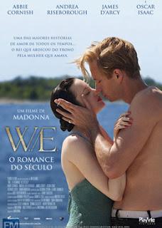Comédia Dramática,  Madonna, Abbie Cornish, Andrea Riseborough, Oscar Isaac, Sinopse de Filme, Trailer de Filme,  Monarquia, Preconceito,