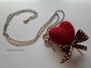 Collar piruleta corazon I