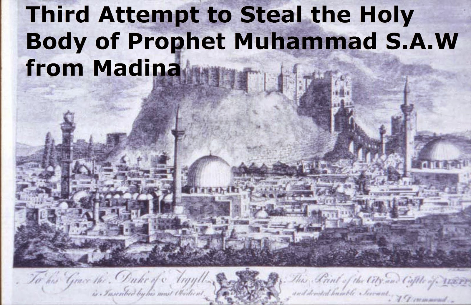 Muhammad the Prophet of Islam Drawing