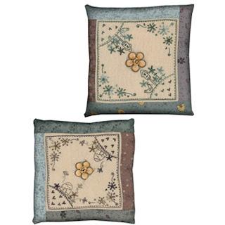Lynette Anderson Designs GARDEN PINCUSHIONS Stitchery Pattern