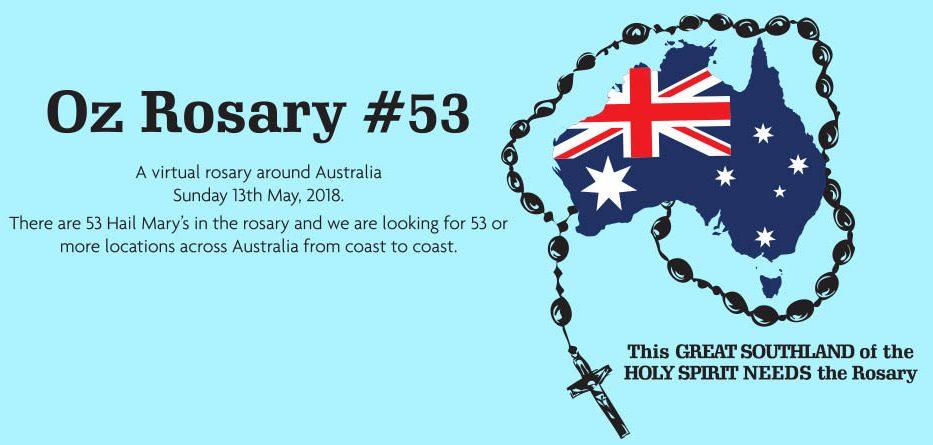 Santo Rosário é recitado em toda costa Australiana