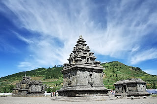 Arjuna Temple in Dieng