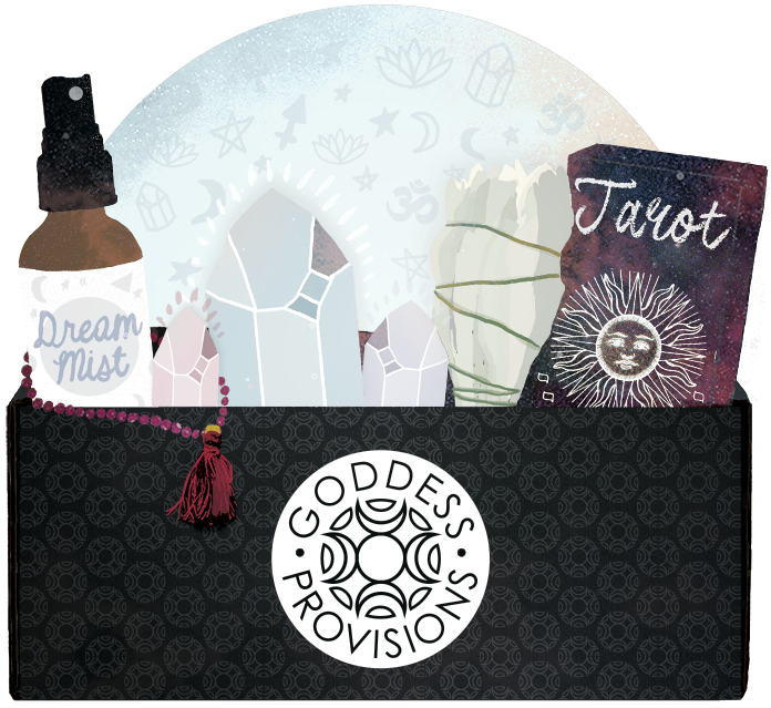 Check out the monthly Goddess Box subscription!!