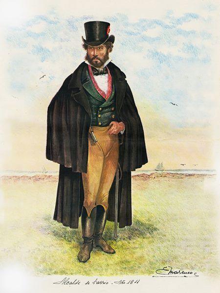 Alcalde de barrio, 1811