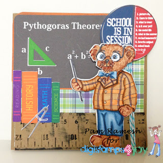 Digistamps4Joy - Professor Pedro