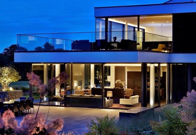 Casa de campo moderna a orillas del r o t mesis arquitexs for Casa de campo arquitectura