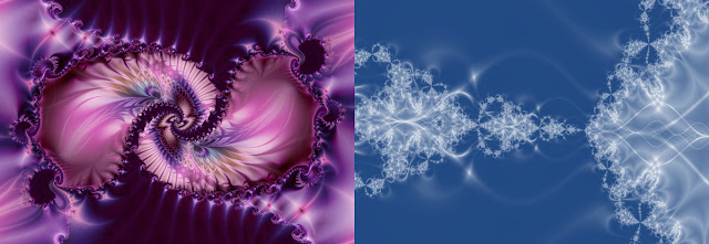Two styles of fractals