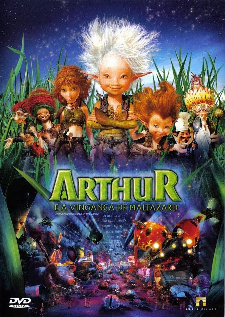 Arthur e a Vingança de Maltazard – Dublado