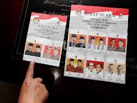 Nih Dia Kertas Suara dan Jadwal Pilkada Jakarta Putaran Kedua