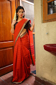 Archana veda in red saree photos-thumbnail-12