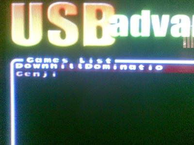 Mengunakan USB Advance dan USB Extreme