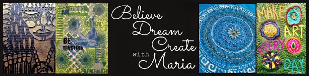 Believe Dream Create with Maria