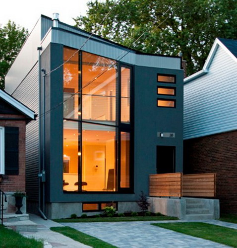Choosing the right modern house plans for designing your for Simple modern tiny house