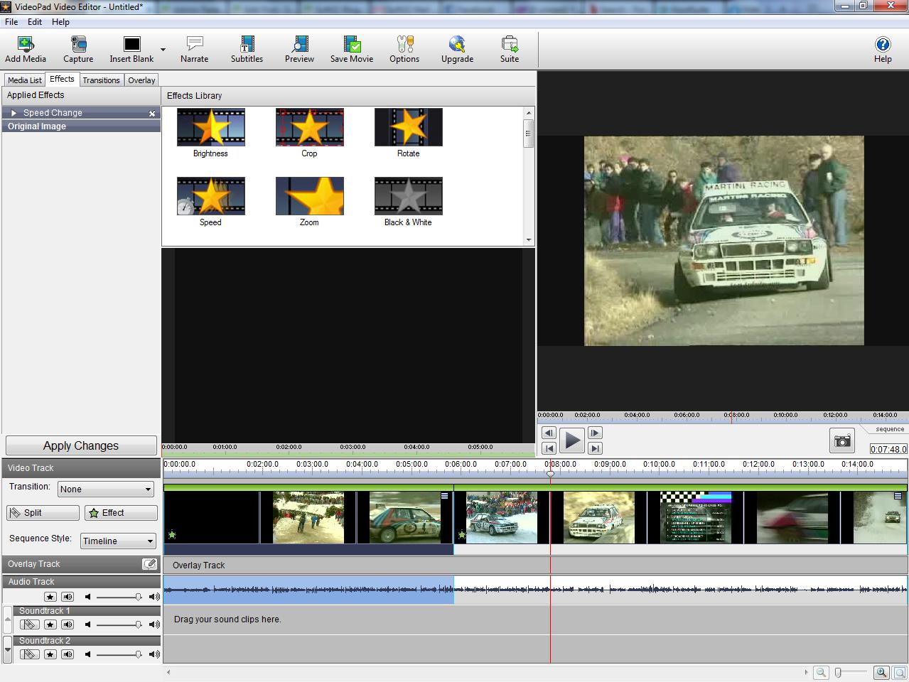 Как сделать чтобы videopad video editor