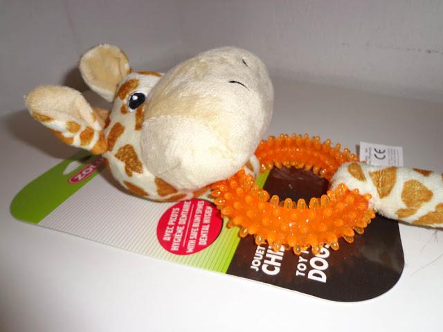 Jouet anneau girafe 34cm Zolux