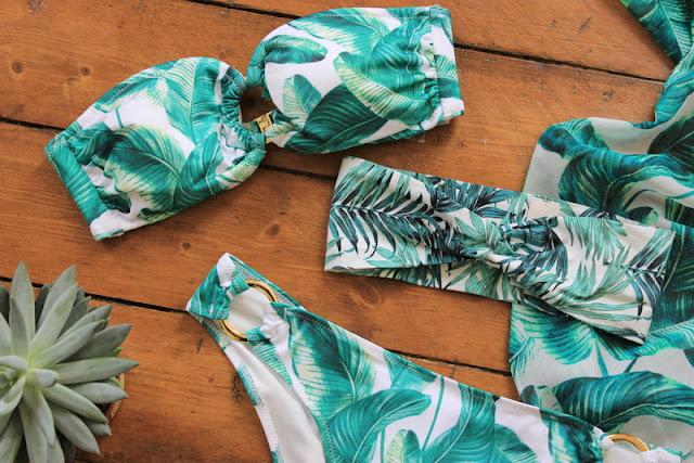 H&M Palm Leaf laurenrhiannon blog