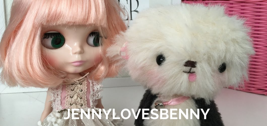 JennyLovesBenny and Jenny Bear ~ creating smiles and beautiful memories to share...