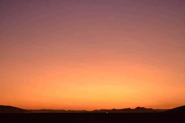 Sunrise in Sossusvlei